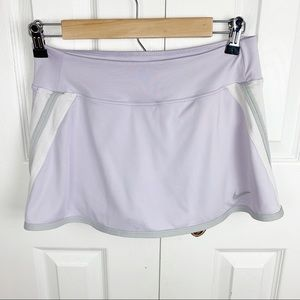 NIKE M Skort Skirt for Golf Tennis - Light Purple